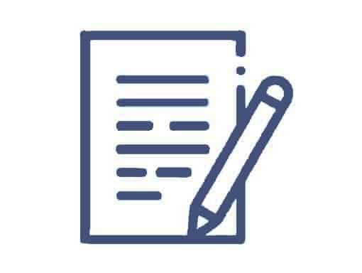 Kontakt-Formular mit Stift für Eingabe von Kundendaten zur Beratung für Treppenlifte