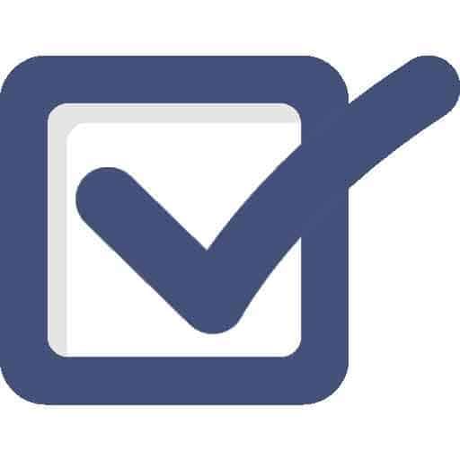 Treppenlift Zuschüsse Checkmark